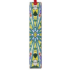 Kaleidoscope Background Large Book Marks
