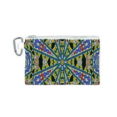 Kaleidoscope Background Canvas Cosmetic Bag (s)