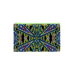 Kaleidoscope Background Cosmetic Bag (xs)