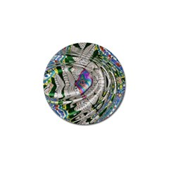 Water Ripple Design Background Wallpaper Of Water Ripples Applied To A Kaleidoscope Pattern Golf Ball Marker