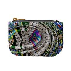 Water Ripple Design Background Wallpaper Of Water Ripples Applied To A Kaleidoscope Pattern Mini Coin Purses