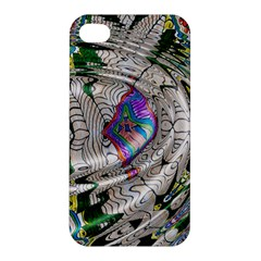 Water Ripple Design Background Wallpaper Of Water Ripples Applied To A Kaleidoscope Pattern Apple Iphone 4/4s Premium Hardshell Case