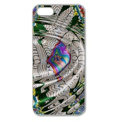Water Ripple Design Background Wallpaper Of Water Ripples Applied To A Kaleidoscope Pattern Apple Seamless iPhone 5 Case (Clear)