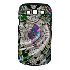 Water Ripple Design Background Wallpaper Of Water Ripples Applied To A Kaleidoscope Pattern Samsung Galaxy S III Classic Hardshell Case (PC+Silicone)