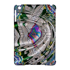 Water Ripple Design Background Wallpaper Of Water Ripples Applied To A Kaleidoscope Pattern Apple Ipad Mini Hardshell Case (compatible With Smart Cover)