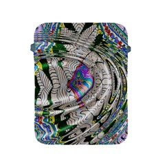 Water Ripple Design Background Wallpaper Of Water Ripples Applied To A Kaleidoscope Pattern Apple Ipad 2/3/4 Protective Soft Cases