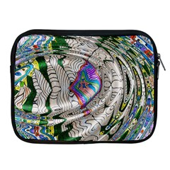 Water Ripple Design Background Wallpaper Of Water Ripples Applied To A Kaleidoscope Pattern Apple iPad 2/3/4 Zipper Cases