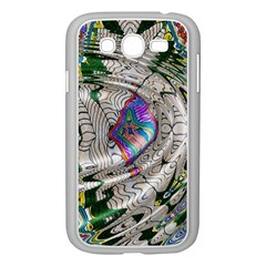 Water Ripple Design Background Wallpaper Of Water Ripples Applied To A Kaleidoscope Pattern Samsung Galaxy Grand DUOS I9082 Case (White)