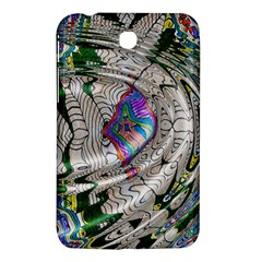 Water Ripple Design Background Wallpaper Of Water Ripples Applied To A Kaleidoscope Pattern Samsung Galaxy Tab 3 (7 ) P3200 Hardshell Case