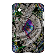 Water Ripple Design Background Wallpaper Of Water Ripples Applied To A Kaleidoscope Pattern Samsung Galaxy Tab 2 (7 ) P3100 Hardshell Case