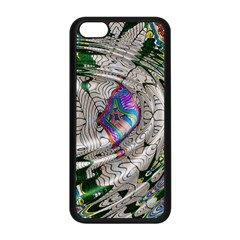 Water Ripple Design Background Wallpaper Of Water Ripples Applied To A Kaleidoscope Pattern Apple Iphone 5c Seamless Case (black)