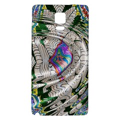 Water Ripple Design Background Wallpaper Of Water Ripples Applied To A Kaleidoscope Pattern Galaxy Note 4 Back Case