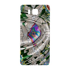 Water Ripple Design Background Wallpaper Of Water Ripples Applied To A Kaleidoscope Pattern Samsung Galaxy Alpha Hardshell Back Case