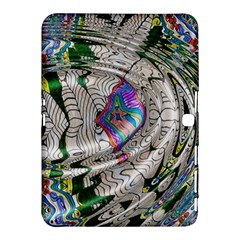 Water Ripple Design Background Wallpaper Of Water Ripples Applied To A Kaleidoscope Pattern Samsung Galaxy Tab 4 (10.1 ) Hardshell Case