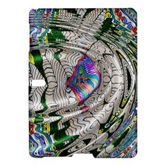 Water Ripple Design Background Wallpaper Of Water Ripples Applied To A Kaleidoscope Pattern Samsung Galaxy Tab S (10.5 ) Hardshell Case