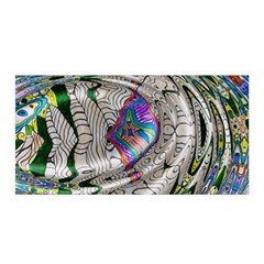 Water Ripple Design Background Wallpaper Of Water Ripples Applied To A Kaleidoscope Pattern Satin Wrap