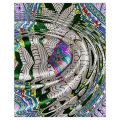 Water Ripple Design Background Wallpaper Of Water Ripples Applied To A Kaleidoscope Pattern Drawstring Bag (small)