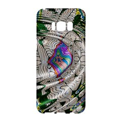 Water Ripple Design Background Wallpaper Of Water Ripples Applied To A Kaleidoscope Pattern Samsung Galaxy S8 Hardshell Case