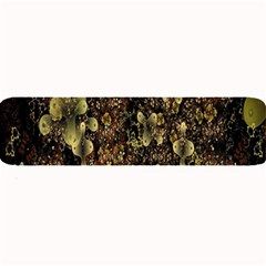 Wallpaper With Fractal Small Flowers Large Bar Mats