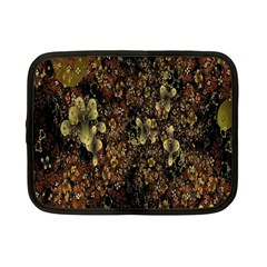 Wallpaper With Fractal Small Flowers Netbook Case (small)