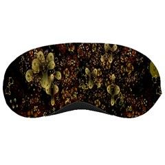 Wallpaper With Fractal Small Flowers Sleeping Masks