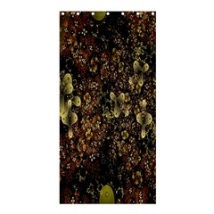 Wallpaper With Fractal Small Flowers Shower Curtain 36  X 72  (stall)