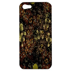 Wallpaper With Fractal Small Flowers Apple iPhone 5 Hardshell Case