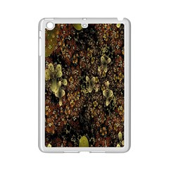 Wallpaper With Fractal Small Flowers iPad Mini 2 Enamel Coated Cases