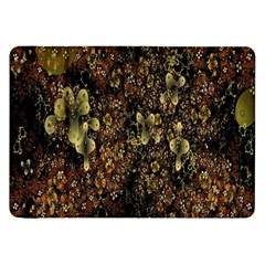 Wallpaper With Fractal Small Flowers Samsung Galaxy Tab 8.9  P7300 Flip Case