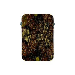 Wallpaper With Fractal Small Flowers Apple Ipad Mini Protective Soft Cases