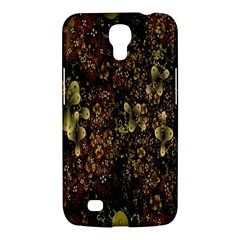 Wallpaper With Fractal Small Flowers Samsung Galaxy Mega 6 3  I9200 Hardshell Case