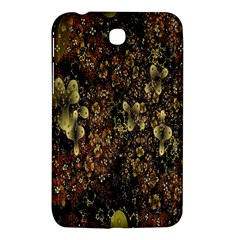 Wallpaper With Fractal Small Flowers Samsung Galaxy Tab 3 (7 ) P3200 Hardshell Case