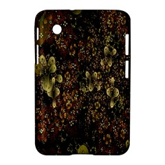 Wallpaper With Fractal Small Flowers Samsung Galaxy Tab 2 (7 ) P3100 Hardshell Case