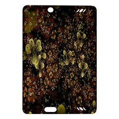 Wallpaper With Fractal Small Flowers Amazon Kindle Fire HD (2013) Hardshell Case