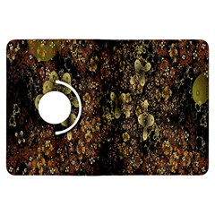 Wallpaper With Fractal Small Flowers Kindle Fire HDX Flip 360 Case