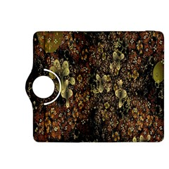 Wallpaper With Fractal Small Flowers Kindle Fire Hdx 8 9  Flip 360 Case