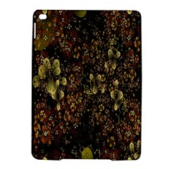 Wallpaper With Fractal Small Flowers Ipad Air 2 Hardshell Cases
