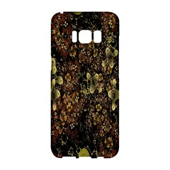 Wallpaper With Fractal Small Flowers Samsung Galaxy S8 Hardshell Case
