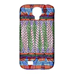Nature Pattern Background Wallpaper Of Leaves And Flowers Abstract Style Samsung Galaxy S4 Classic Hardshell Case (pc+silicone)