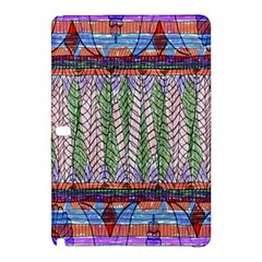 Nature Pattern Background Wallpaper Of Leaves And Flowers Abstract Style Samsung Galaxy Tab Pro 10 1 Hardshell Case