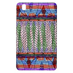 Nature Pattern Background Wallpaper Of Leaves And Flowers Abstract Style Samsung Galaxy Tab Pro 8.4 Hardshell Case