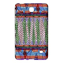 Nature Pattern Background Wallpaper Of Leaves And Flowers Abstract Style Samsung Galaxy Tab 4 (7 ) Hardshell Case