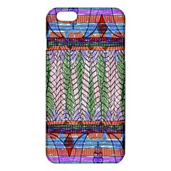 Nature Pattern Background Wallpaper Of Leaves And Flowers Abstract Style Iphone 6 Plus/6s Plus Tpu Case