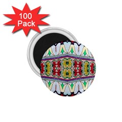 Kaleidoscope Background  Wallpaper 1 75  Magnets (100 Pack)
