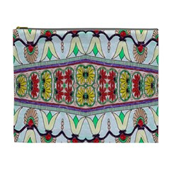 Kaleidoscope Background  Wallpaper Cosmetic Bag (XL)