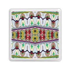 Kaleidoscope Background  Wallpaper Memory Card Reader (square)