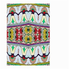 Kaleidoscope Background  Wallpaper Small Garden Flag (two Sides)