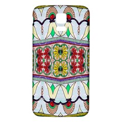 Kaleidoscope Background  Wallpaper Samsung Galaxy S5 Back Case (White)