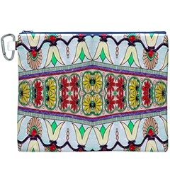 Kaleidoscope Background  Wallpaper Canvas Cosmetic Bag (xxxl)