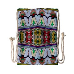 Kaleidoscope Background  Wallpaper Drawstring Bag (Small)